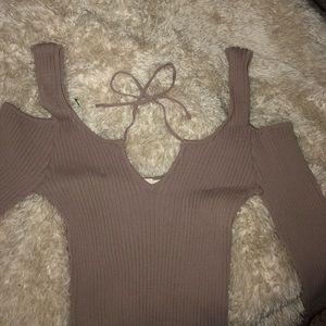 PacSun LA HEARTS bodysuit top long sleeve